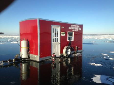 Fish House Rental