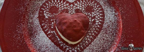 Heart Whoopee Pies