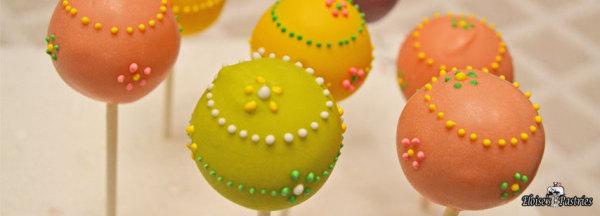 flower cake pops, spring cake pops, mothers day cake pops, girly cake pops