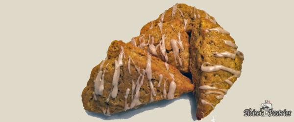pumpkin scones, pumpkin maple scones
