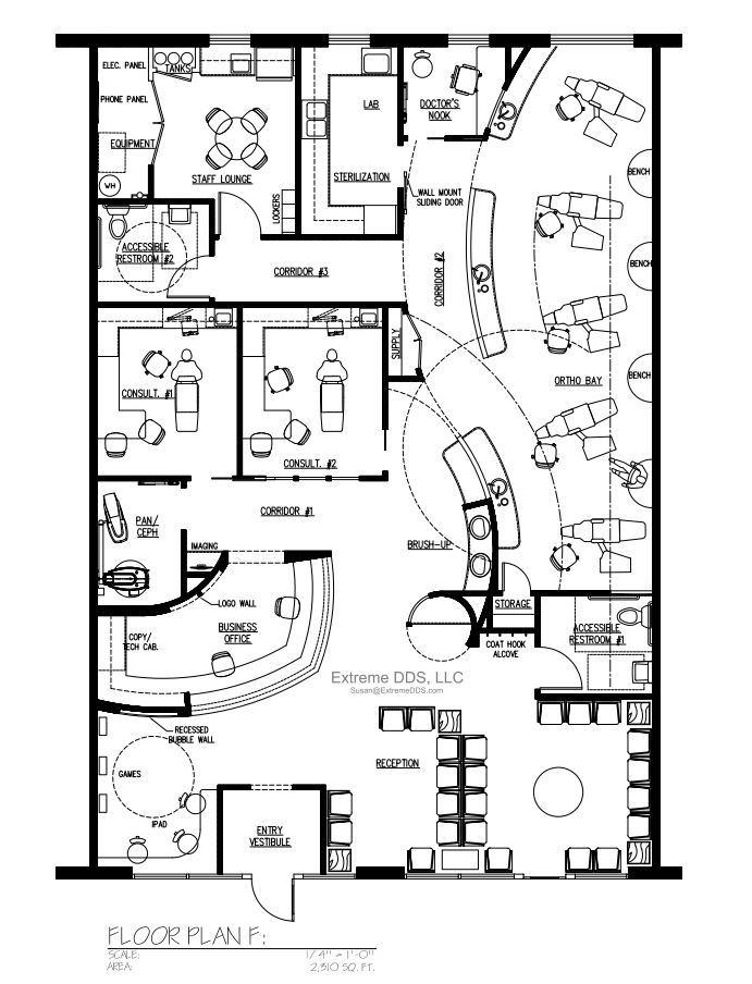 Dental Office Design Floor Plans