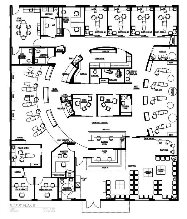 Hotel deep cleaning checklist on medical clinic floor plan template