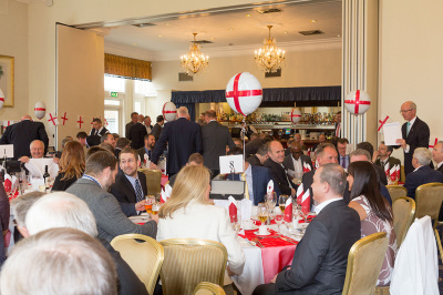 St George's Day Lunch With The Exiles