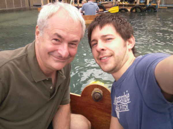 With Paul Gambaccini