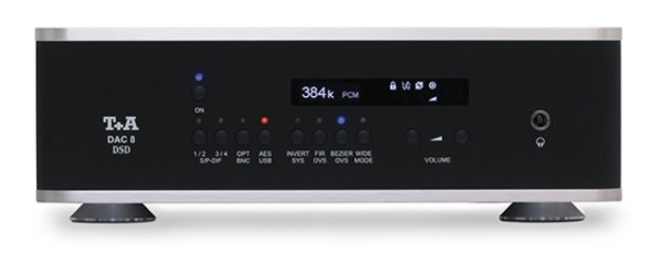 T+A DAC 8 DSD praised in 'Stereophile'