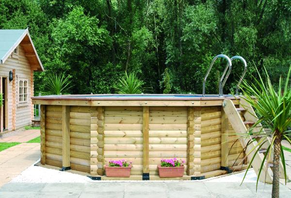 Premium DIY Wooden Pool Kits