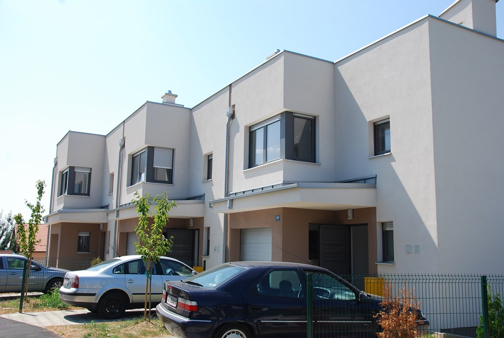 residential building Hill houses