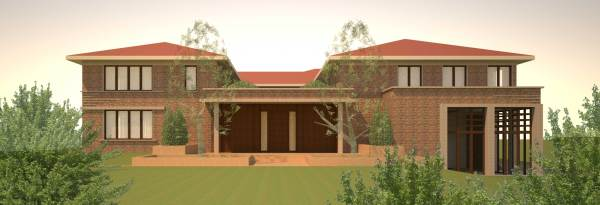 Villa according to Vastu priciples