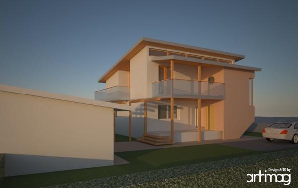 renovation of the house in Brezovica
