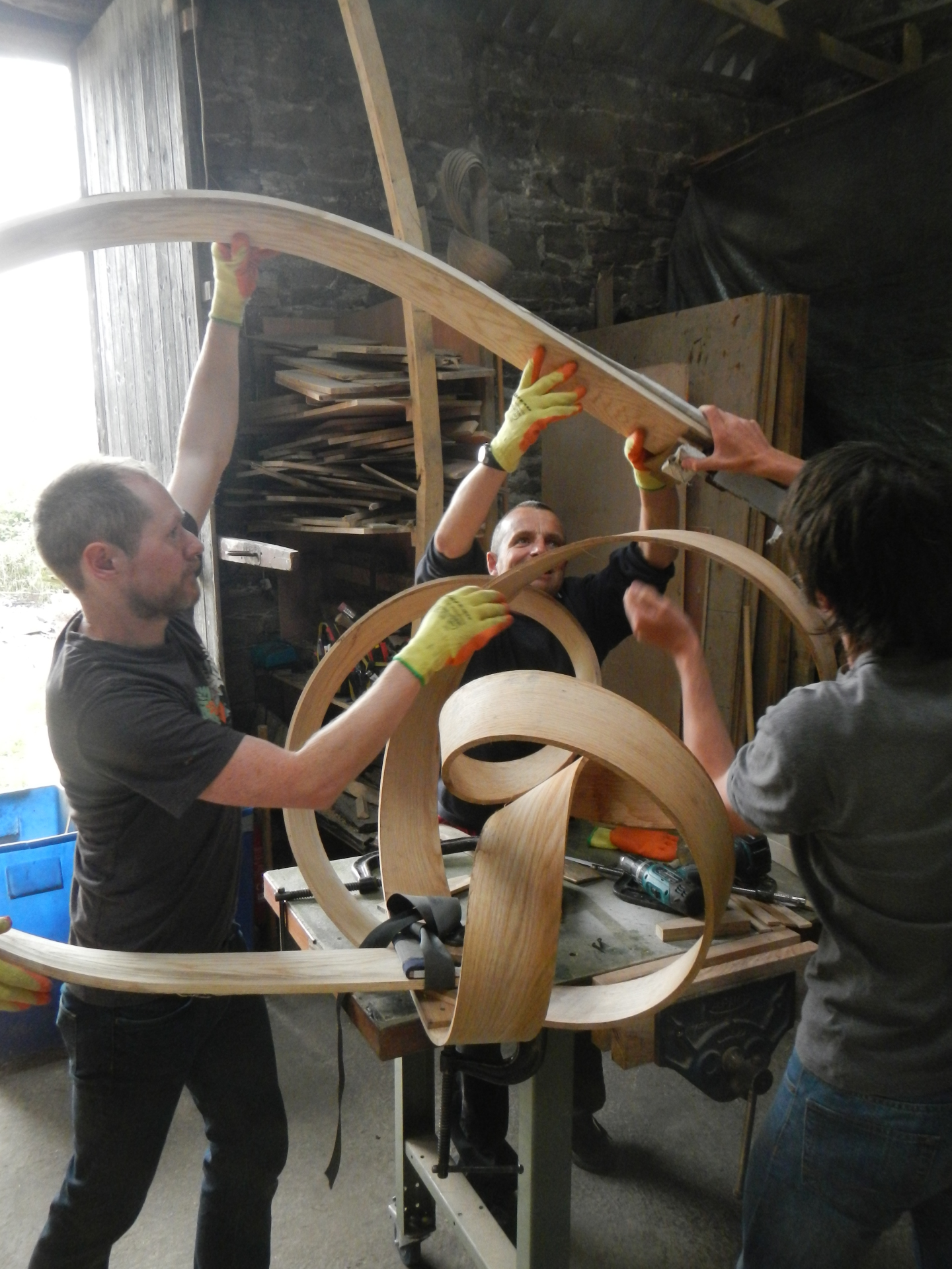New Steam-Bending Course Dates for 2016