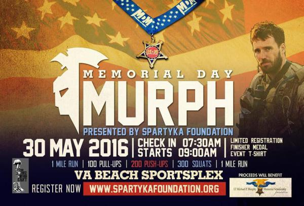 Memorial Day Murph 5K- May 30
