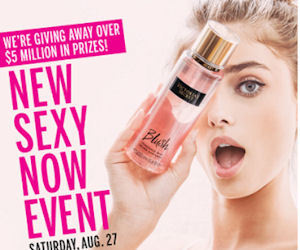 Free Victoria's Secret Fantasies Products In-Stores on 8/27