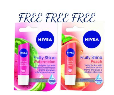 Free Nivea Lip? YES PLEASE