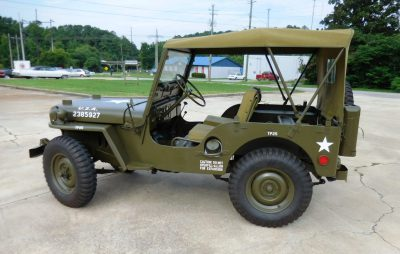 1952 Willis Army Jeep