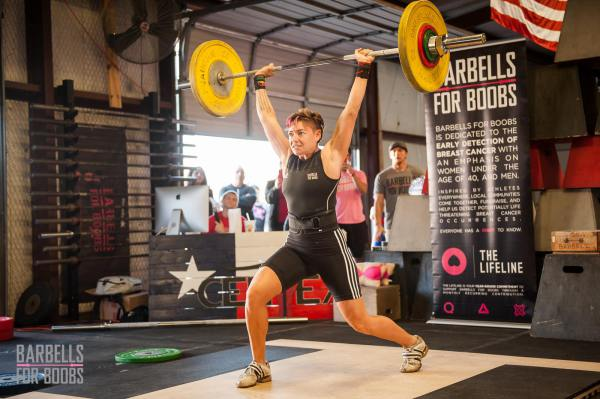 Central Texas Oly Open and Barbells for Boobs Fundraiser