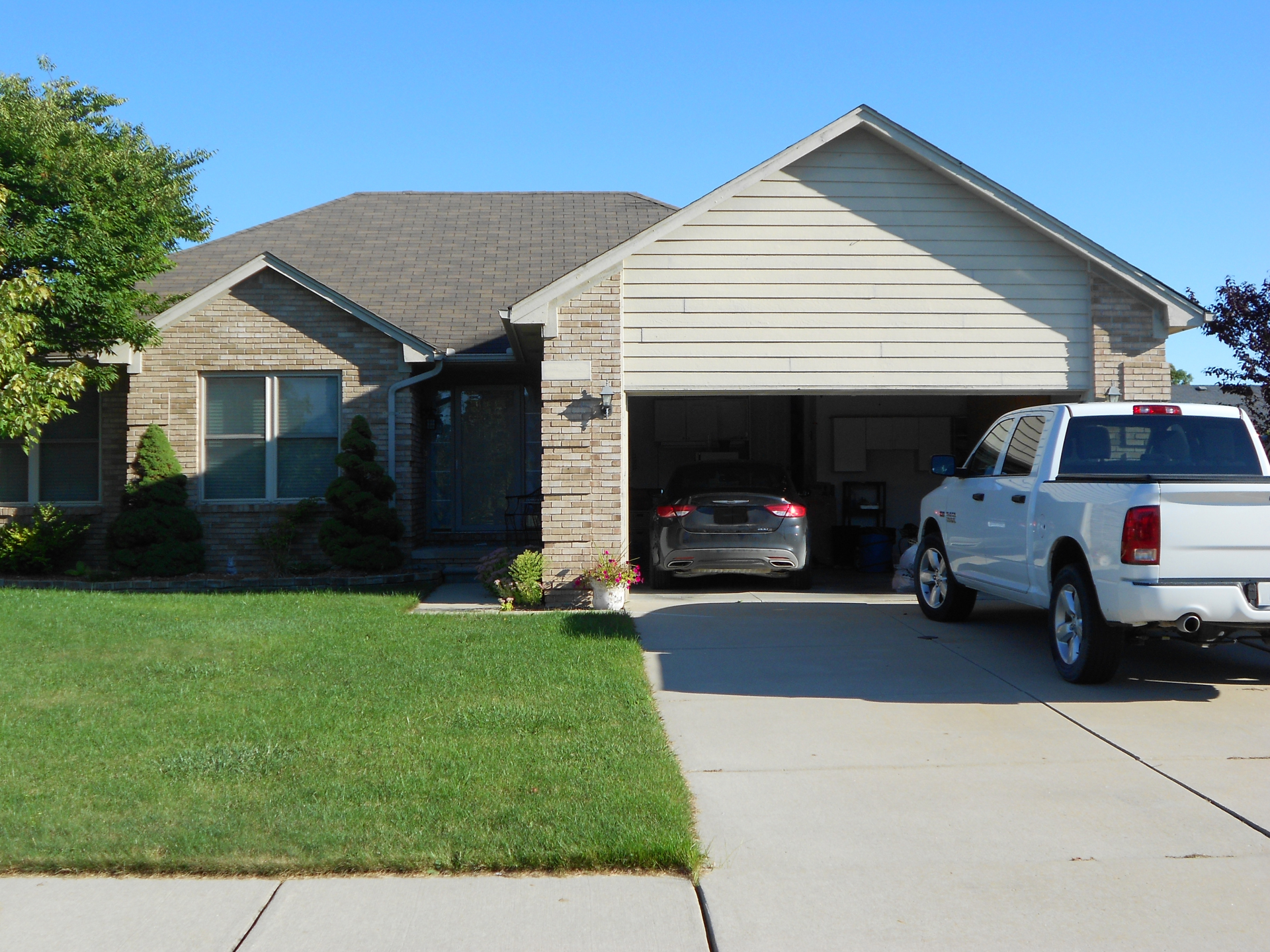 One of our home inspections in Richmond, MI.