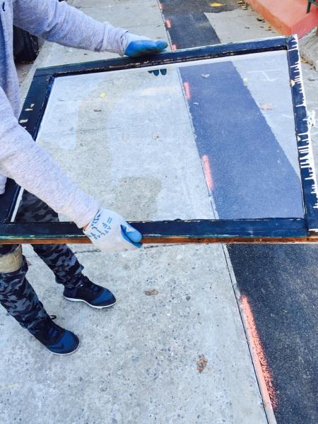 wood window repair, clear pane glass