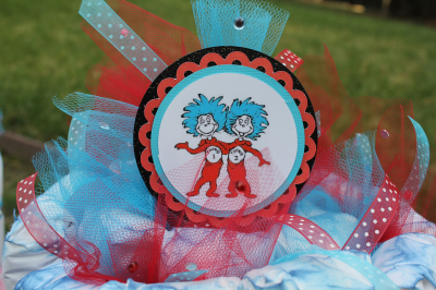 Cat in the Hat - Baby Shower for Twins
