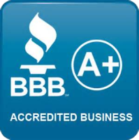 accredited by the BBB with an A+ rating