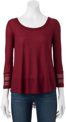 Juniors' Almost Famous Swing Top $17.99 @ Kohl's - 3 Colors