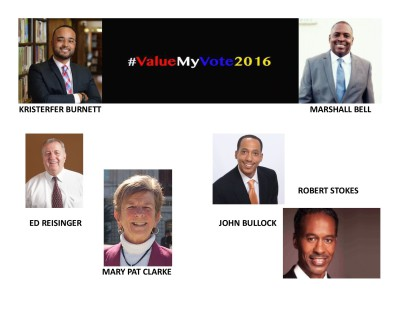 Baltimore City 2016 Election Endorsements [Districts 7-14]