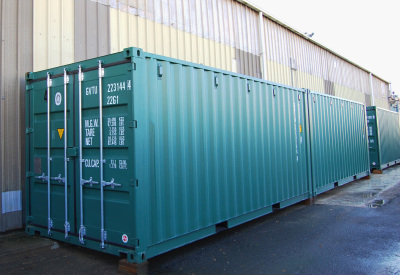 Storage unit, 20 ft, left facing