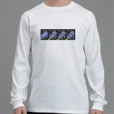LONG SLEEVE REVERSE SIKK LOGO TEE (NOT OUT YET)