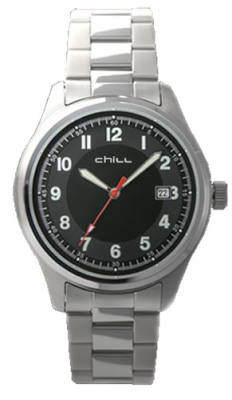 Auto Style Miners Dress Watch