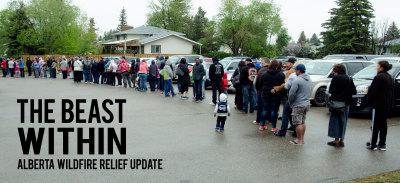 Alberta Wildfire Relief line