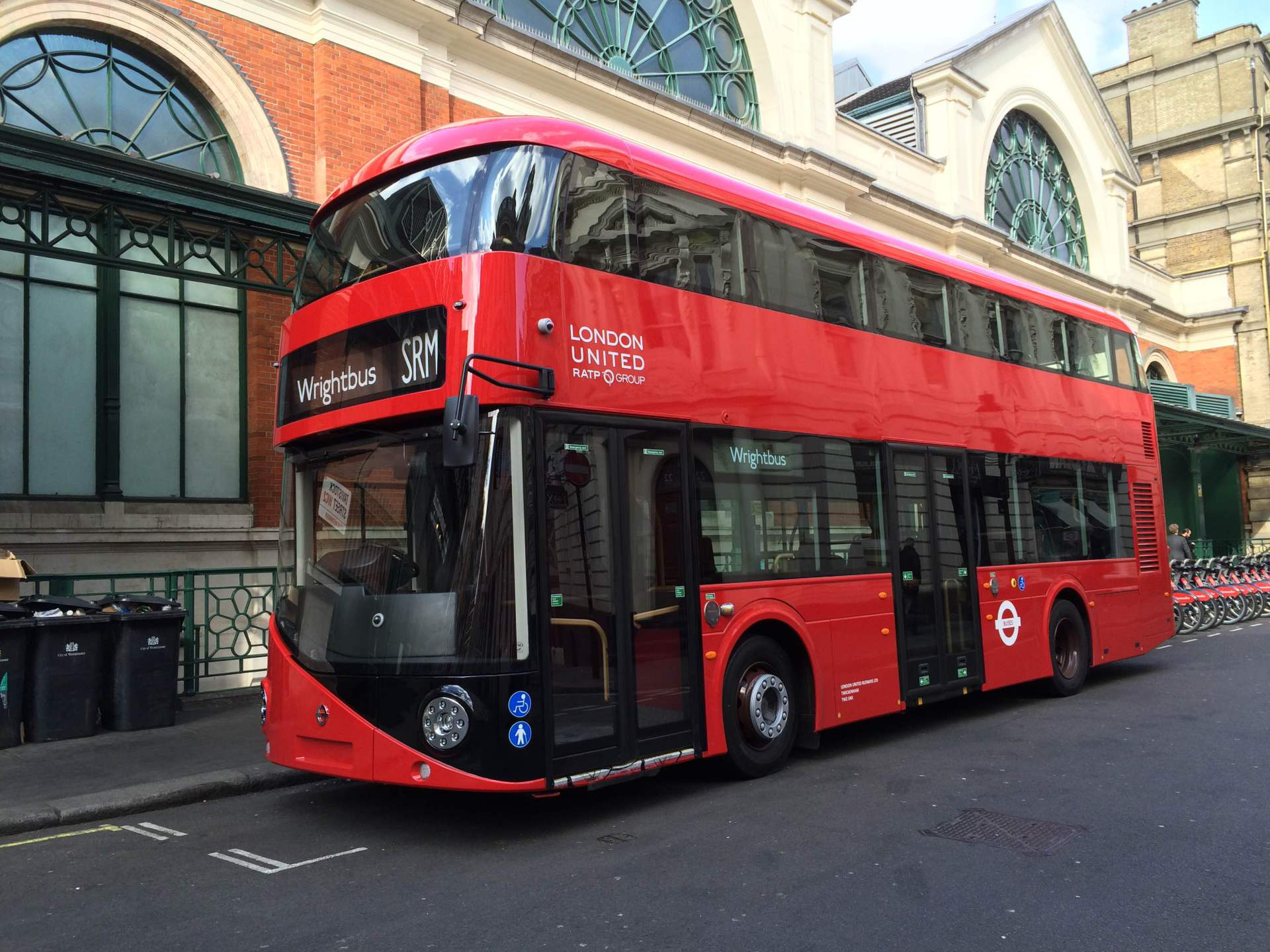 Wrightbus launch the SRM