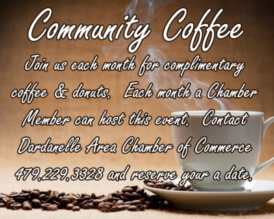 Community Coffee Hosted by Haven Home 103 South 3rd Street Dardanelle 4-5pm