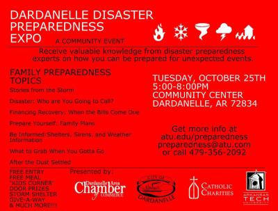 Dardanelle Disater Preparedness Expo