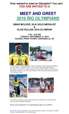 Meet & Greet 2016 GOLD Olympian Medalist