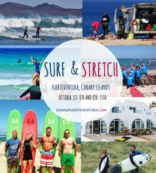 Pro Surfer and Celebrity Fitness trainer hosts Surf and Fitness week in Fuerteventura in October
