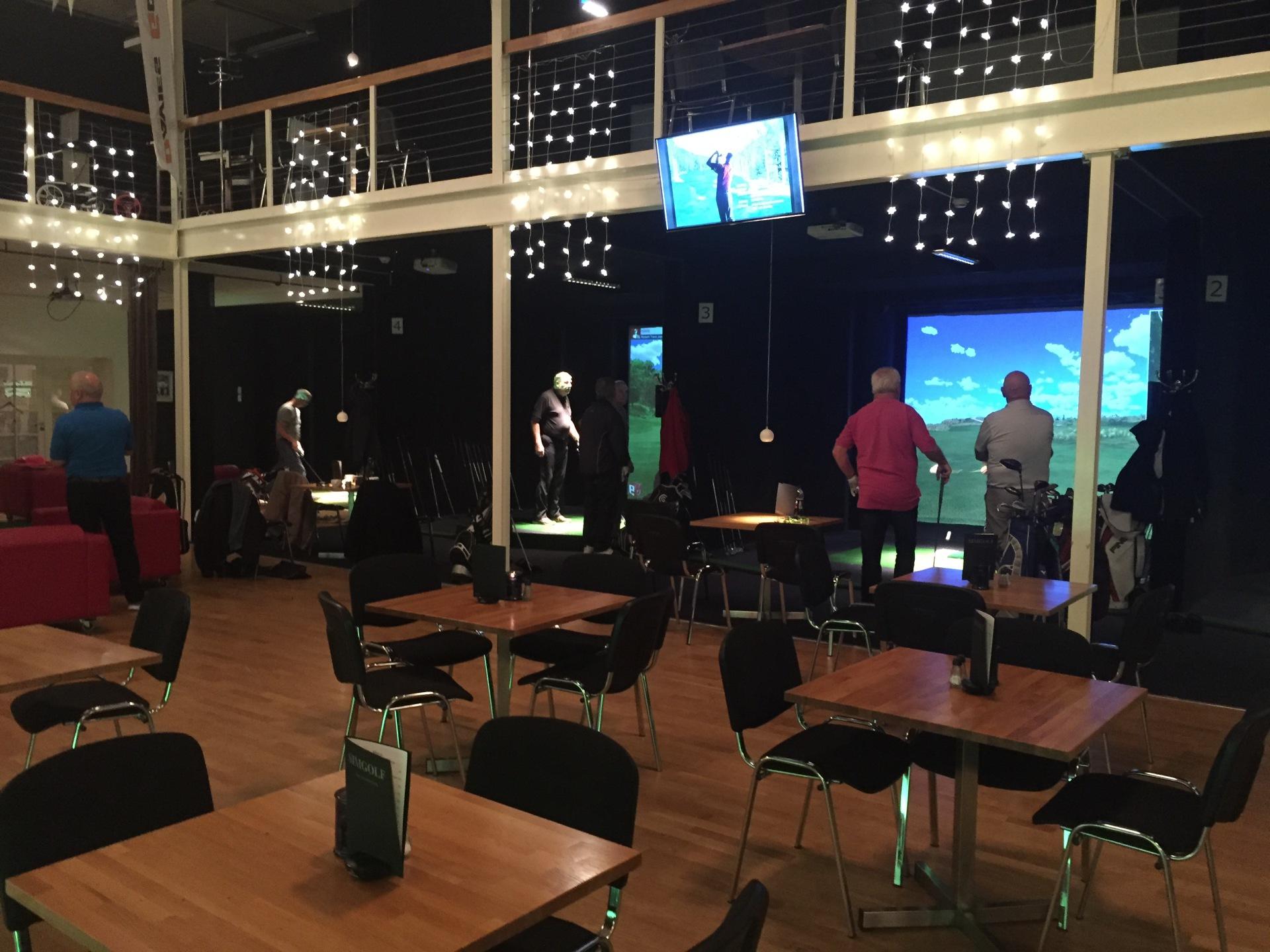 Skandinaviens største indoor golf center