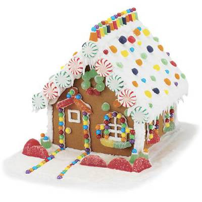 December 10, 12:00 to 2:00 p.m. -- Gingerbread House Workshop