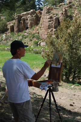 October 4-6, Painting Workshop with Kim English
