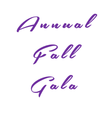 September 24, 2016 -- Annual Fall Gala