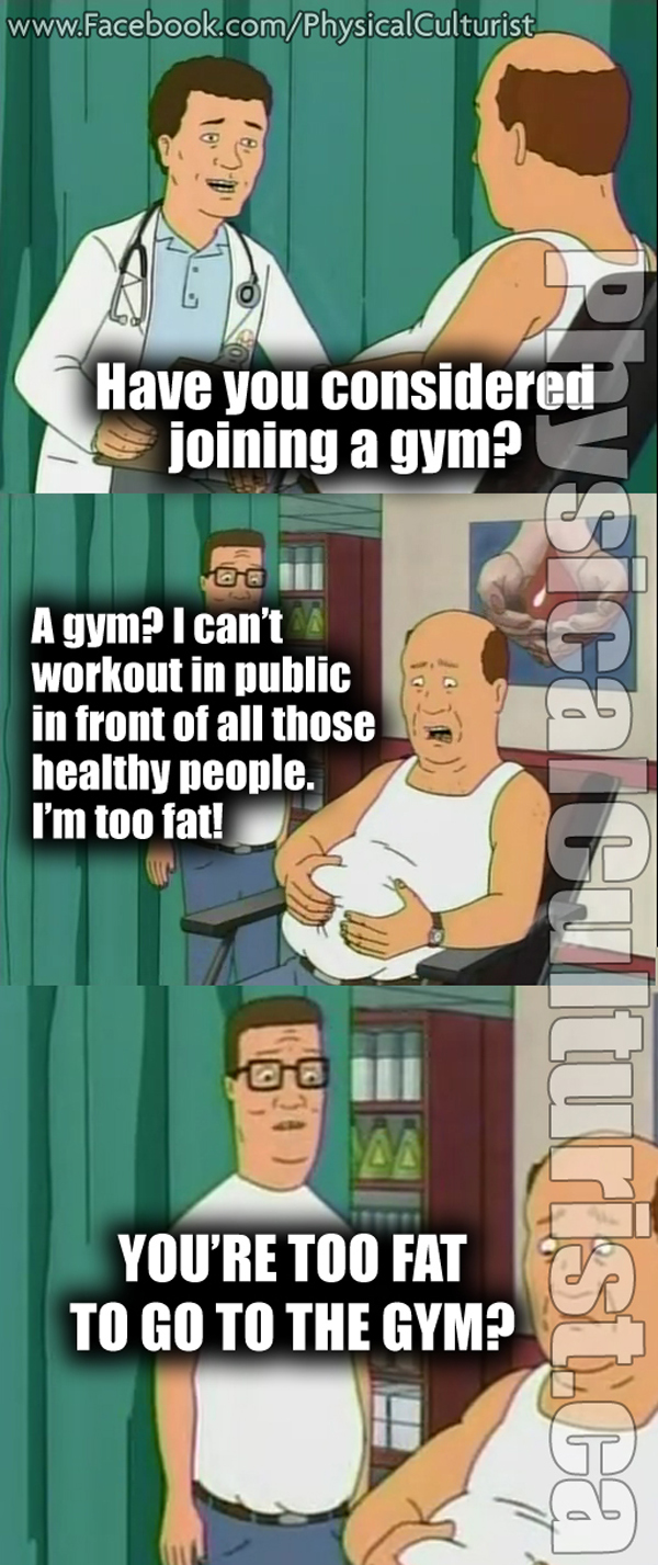 KING-OF-THE-HILL-TOO-FAT-TO-JOIN-THE-GYM