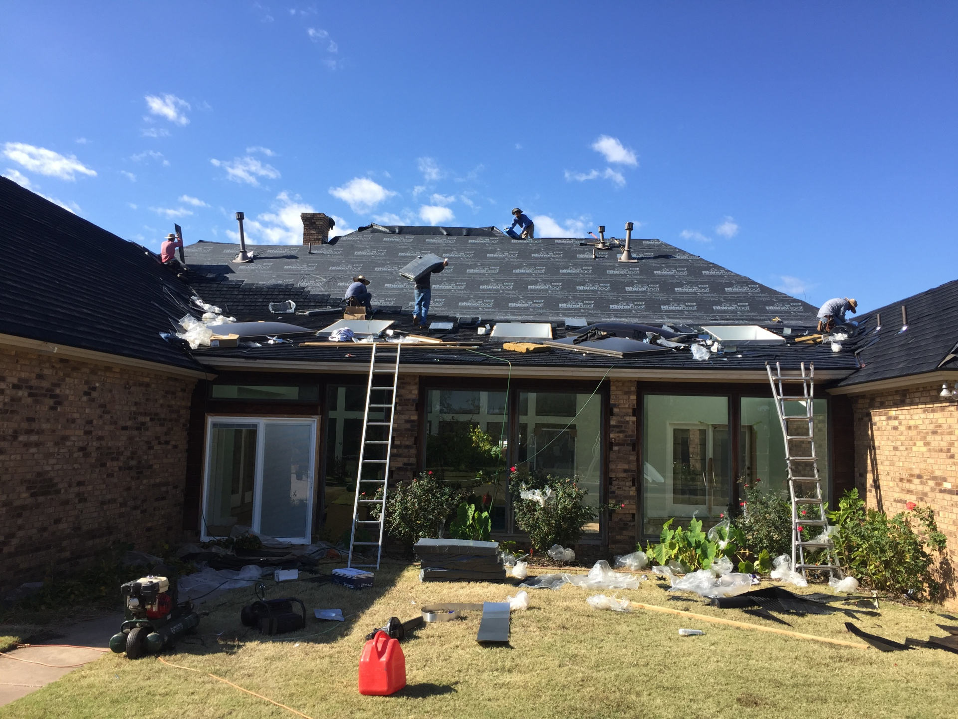 Residential Re-roofs
