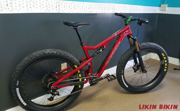 Salsa Bucksaw, Salsa Fat bike, Fat Bike