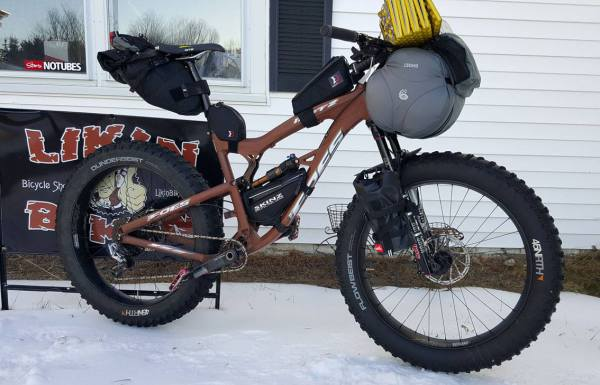 Foes Mutz, Foes Fat Bike, Fat Bike, Bike Packing, Winter Bike Packing
