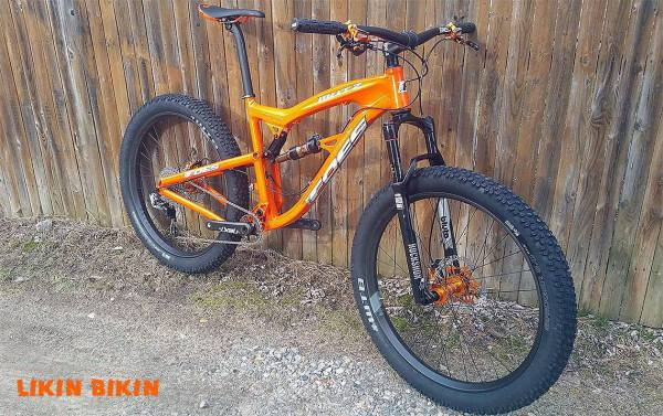 Foes Mutz, Custom Fat Bike, Foes Fat, Fat BIke, 275+, Plus Bike