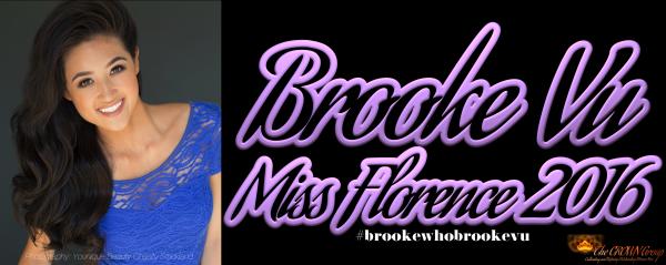 Miss Florence 2016 Brooke Vu