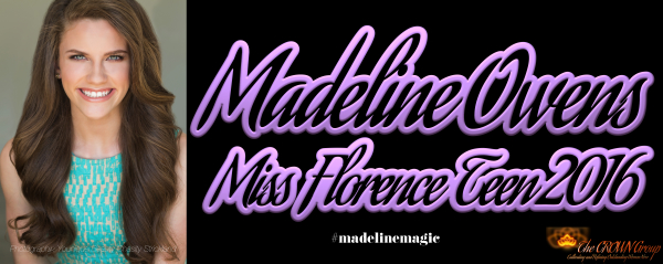 Miss Florence Teen 2016 Madeline