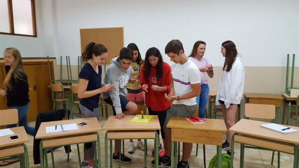 A Rassias typical class day! (Spain)