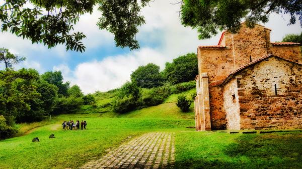 Fieldtrip to El Naranco-- Roman structure in Oviedo (Spain)