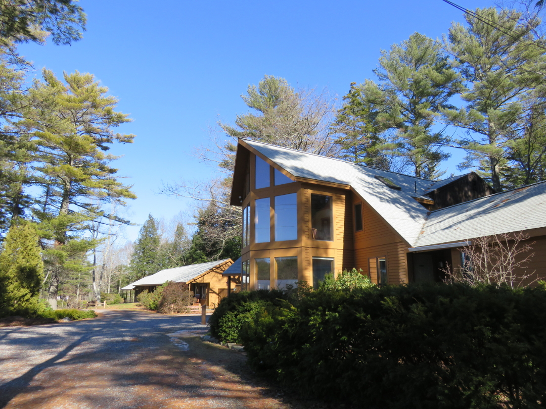Wiscasset Woods lobby in the spring of 2016