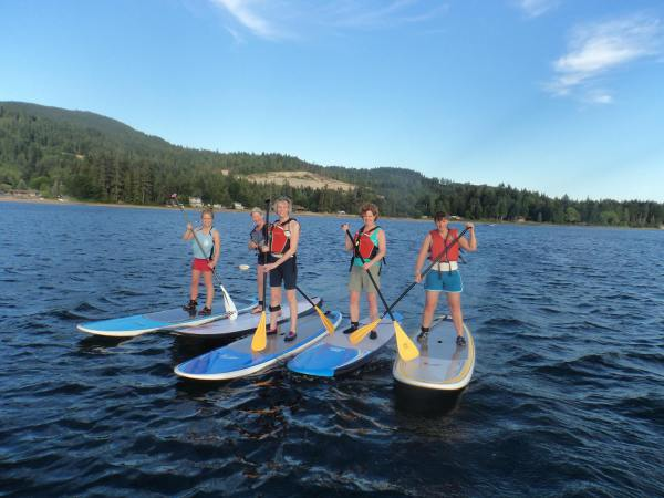 Paddleboard Festival at Porpoise Bay park