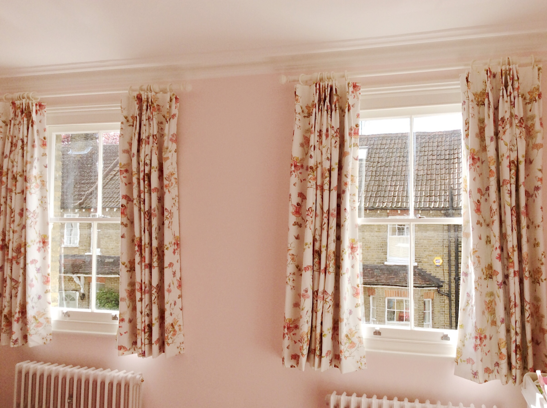 Nursery Curtains, Hampton
